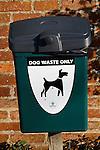 Bin for dog waste