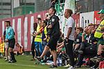 20.07.2018, Parkstadion, Zell am Ziller, AUT, FSP, 1.FBL, SV Werder Bremen (GER) vs 1. FC Koeln (GER)<br /> <br /> im Bild<br /> Florian Kohfeldt (Trainer SV Werder Bremen) auf Trainerbank, <br /> <br /> Foto © nordphoto / Ewert