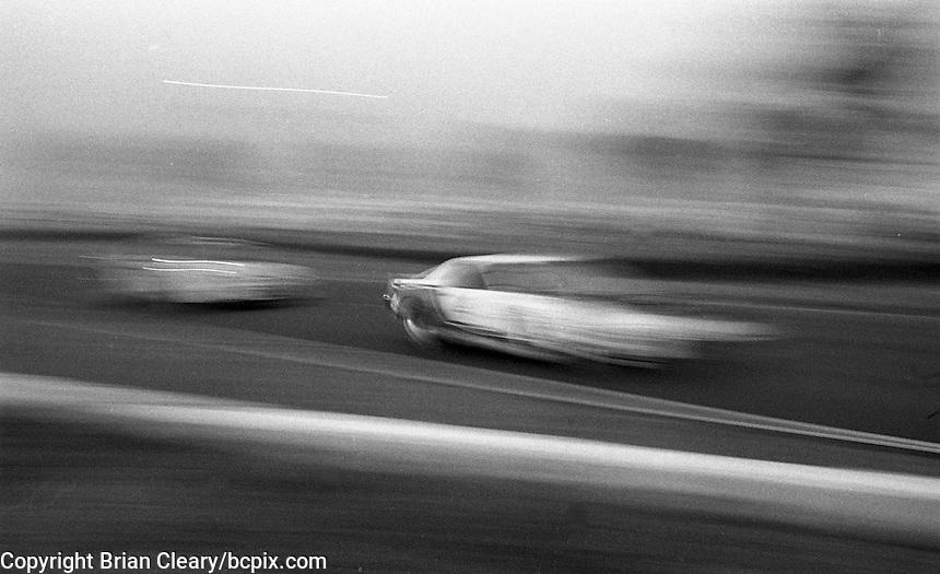 Slow shutter speed pan, 12 Hours or Sebring, Sebring International Raceway, Sebring, FL, March 19, 1983.  (Photo by Brian Cleary/bcpix.com)