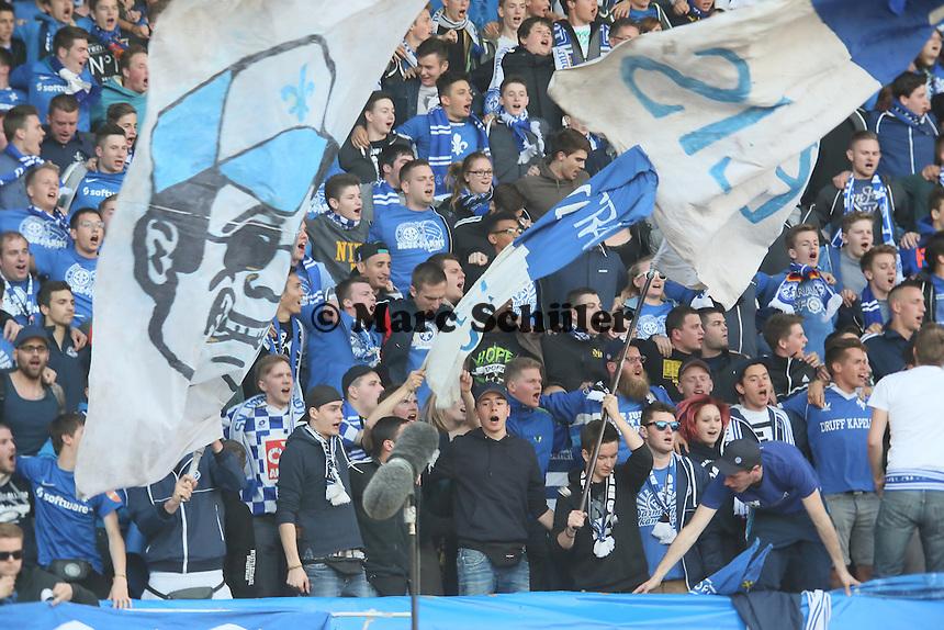 Darmstaedter Fans - SV Darmstadt 98 vs. Armina Bielefeld, Stadion am Böllenfalltor