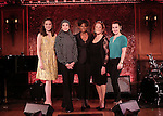 Laura Osnes, Liliane Montevecchi, Melba Moore, Linda Lavin and Lauren Worsham  during the 54 Below Press preview at 54 Below on May 20, 2015 in New York City.