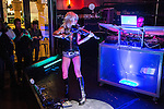 LIVE at the Venetian Rockhouse! debut performance as DJ and Electric Violin...EDM hits and rock-star tunes!, and special quest dancer from Sexxy , Alexandria Halbauer