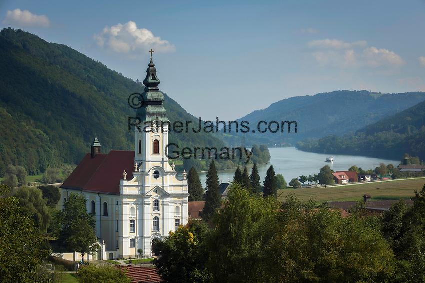 Oesterreich, Oberoesterreich, Engelhartszell: Stift Engelszell   Austria, Upper Austria, Engelhartszell: Engelszell Abbey