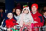 Dylan, Sharon, Ella and Con Ambrose  at the Kiilarney Christmas parade on Saturday night