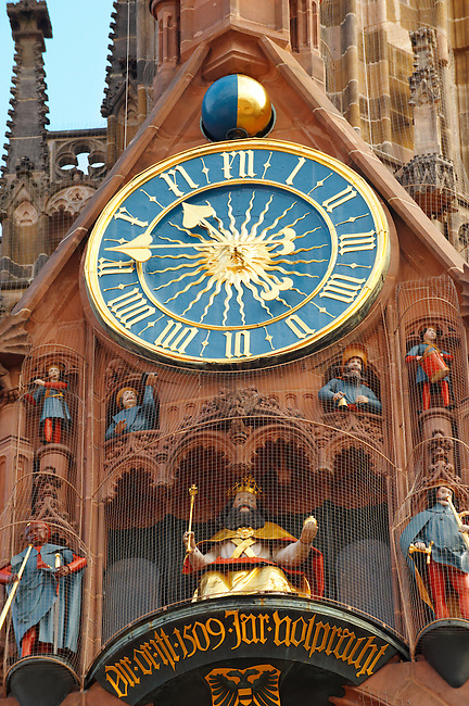 Nurnberg Towm Hall Clock