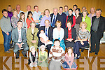 Christening - Michael & Eileen Brick from Causeway, seated centre having a wonderful time with family and friends at the party celebrating the Christening of their daughter Molly in The Ballyroe Heights Hotel on Saturday..Waiting on names................................................................................................................................................................................. ............