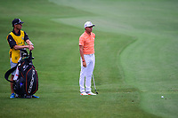 Rickie Fowler (USA) looks over his approach shot on 3 during round 4 of the Shell Houston Open, Golf Club of Houston, Houston, Texas, USA. 4/2/2017.<br /> Picture: Golffile | Ken Murray<br /> <br /> <br /> All photo usage must carry mandatory copyright credit (&copy; Golffile | Ken Murray)