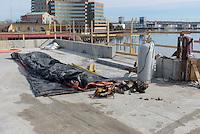Boathouse at Canal Dock Phase II   State Project #92-570/92-674 Construction Progress Photo Documentation No. 08 on 21 February 2017. Image No. 15