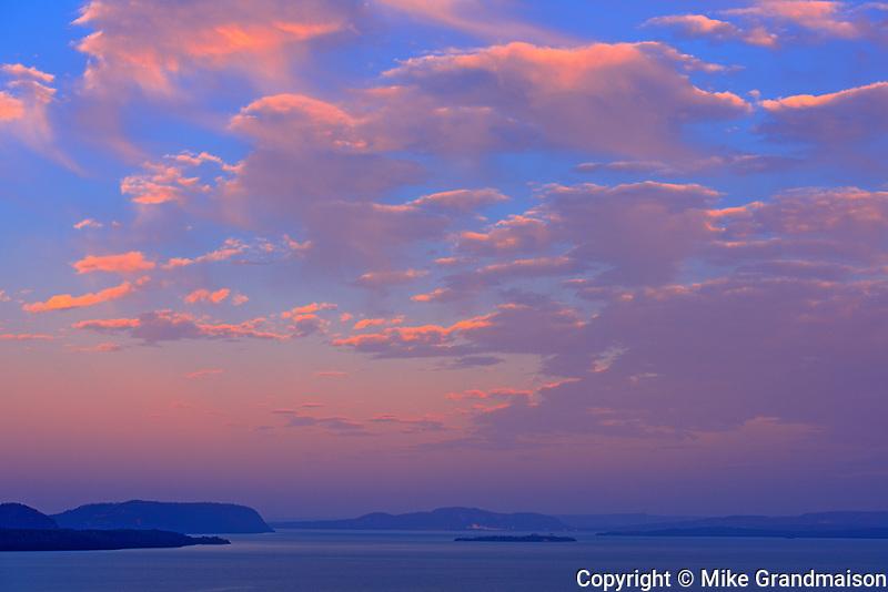 Dawn on Lake Superior, , Ontario, Canada