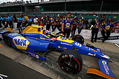 Verizon IndyCar Series<br /> Indianapolis 500 Qualifying<br /> Indianapolis Motor Speedway, Indianapolis, IN USA<br /> Saturday 20 May 2017<br /> Alexander Rossi, Andretti Herta Autosport with Curb-Agajanian Honda<br /> World Copyright: Phillip Abbott<br /> LAT Images<br /> ref: Digital Image abbott_IndyQ-0517_19489