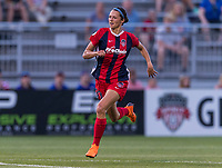 Boyds, MD - June 23, 2018: The Orlando Pride defeated the Washington Spirit 1-0 during a National Women's Soccer League (NWSL) match at the Maryland SoccerPlex.