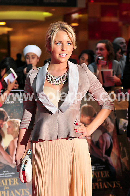 **ALL ROUND PICTURES FROM SOLARPIX.COM**                                             **WORLDWIDE SYNDICATION RIGHTS**                                                                                  Caption: The UK premiere of the new movie, Water for Elephants, held at the Vue Westfield in London, UK. 3 May 2011.This pic: Lydia Bright                                                                                                                                                                JOB REF: 13257 MZF       DATE: 03_05_2011                                                            **MUST CREDIT SOLARPIX.COM OR DOUBLE FEE WILL BE CHARGED**                                                                      **MUST AGREE FEE BEFORE ONLINE USAGE**                               **CALL US ON: +34 952 811 768 or LOW RATE FROM UK 0844 617 7637**
