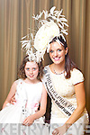 Philadelphia Rose Brittany Killion pictured with her Rosebud Caoimhe Kiely at the Carlton Hotel at the Rose of Tralee on Friday.