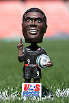 24 April 2004: Freddy Adu bobblehead dolls were given out to fans attending the game. The Chicago Fire defeated DC United 1-0 at RFK Stadium in Washington, DC on opening day of the regular season in a Major League Soccer game...