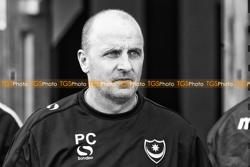 Paul Cook, Manager of Portsmouth during Colchester United vs Portsmouth, Sky Bet EFL League 2 Football at the Weston Homes Community Stadium on 11th March 2017