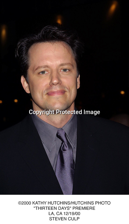 "©2000 KATHY HUTCHINS/HUTCHINS PHOTO.""THIRTEEN DAYS"" PREMIERE.LA, CA 12/19/00.STEVEN CULP"