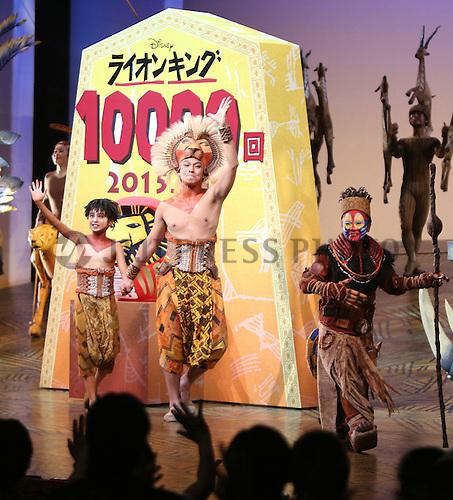 Japan Musical Lion King Jiji Press Photo