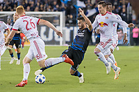 San Jose, CA - Thursday January 21, 2016: Vako during a Major League Soccer (MLS) match between the San Jose Earthquakes and the New York Red Bulls at Avaya Stadium.