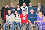 50th Birthday: Angela Moroney, Listowel celebrating her 5oth birthday with family & friends at the Kingdom Bar, Listowel on Wednesday night 18th. Front : Stephen, Louise, Angela & Mike Moroney & Kitty Behan. Back : Lilly Anne Griffin, Jason Quinn, Patricia Quinn, Denis Connors, Tim Connors & Pa Quinn.