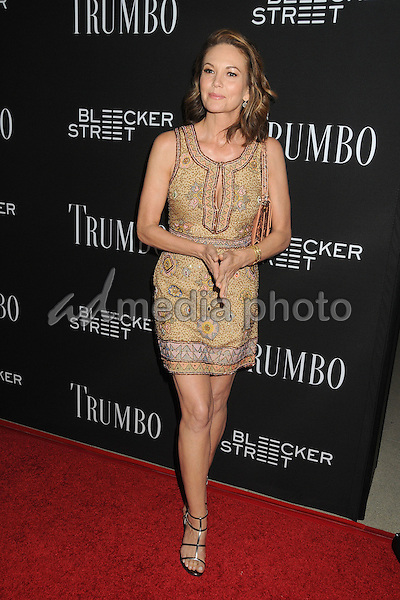 "27 October 2015 - Beverly Hills, California - Diane Lane. ""Trumbo"" Los Angeles Premiere held at the AMPAS Samuel Goldwyn Theater. Photo Credit: Byron Purvis/AdMedia"