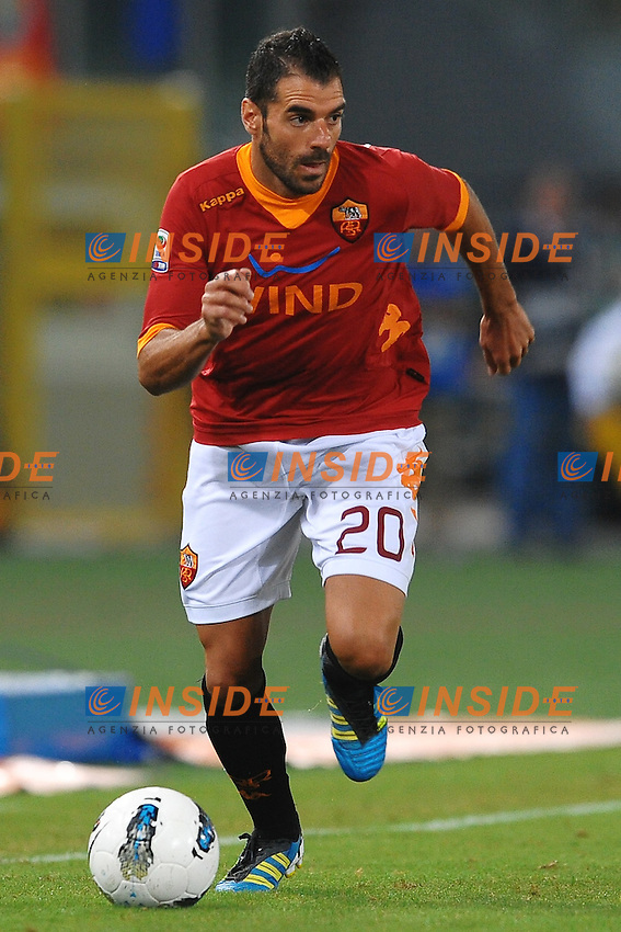 "Simone PERROTTA Roma.Roma 22/9/2011 Stadio ""Olimpico"".Football Calcio Serie A 2011/2012.Roma Vs Siena.Foto Insidefoto Andrea Staccioli"