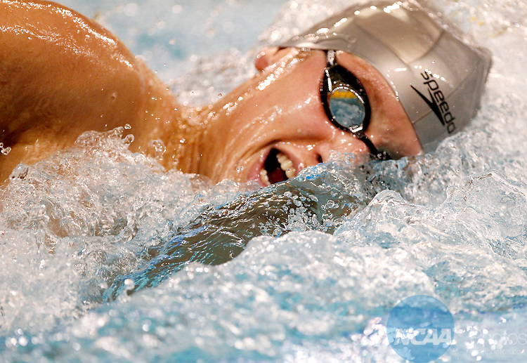 26 MAR 2011:  Michael McBroom of the University of Texas competes in the 1650 Yard Freestyle during the Division I Men's Swimming and Diving Championship held at the University of Minnesota Aquatics Center in Minneapolis, MN. McBroom   swam a 14:32.86 to win the event.  Carlos Gonzalez/ NCAA Photos