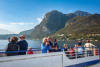 Italy, Lombardia, Menaggio: ferry to Bellagio and Varenna | Italien, Lombardei, Menaggio: auf der Faehre nach Bellagio und Varenna