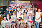 5771-5775.---------.Watch the Birdie.----------------.Gally's bar/restaurant,Tralee,golf society played at Ardfert last Saturday for the inaugural Tom O'Connell memorial trophy,sponsored by Cuil Didi?n nursing home and won by Mike Sugrue(seated centre)with 41pts.The late Tom O'Connell,who passed away suddenly just 1 yr ago was a well liked member and there was an outstanding turnout for the event.