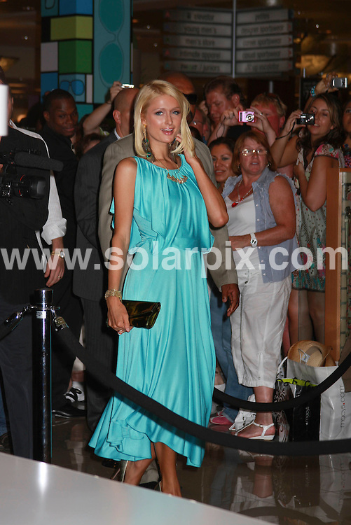 **ALL ROUND PICTURES FROM SOLARPIX.COM**.**SYNDICATION RIGHTS FOR UK, SPAIN, PORTUGAL, AUSTRALIA, S.AFRICA & DUBAI (U.A.E) ONLY**.Paris Hilton debuts her fall Shoe collection at Macys fashion show mall in Las Vegas Nevada in the USA..JOB REF:6931-PHZ/ PRN          DATE:29_07_08 .**MUST CREDIT SOLARPIX.COM OR DOUBLE FEE WILL BE CHARGED* *UNDER NO CIRCUMSTANCES IS THIS IMAGE TO BE REPRODUCED FOR ANY ONLINE EDITION WITHOUT PRIOR PERMISSION*