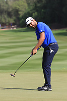 Romain Langasque (FRA) during the first round of the Ras Al Khaimah Challenge Tour Grand Final played at Al Hamra Golf Club, Ras Al Khaimah, UAE. 31/10/2018<br /> Picture: Golffile | Phil Inglis<br /> <br /> All photo usage must carry mandatory copyright credit (&copy; Golffile | Phil Inglis)