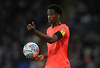 Huddersfield Town's Terence Kongolo during the game<br /> <br /> Photographer Ian Cook/CameraSport<br /> <br /> The EFL Sky Bet Championship - Cardiff City v Huddersfield Town - Wednesday August 21st 2019 - Cardiff City Stadium - Cardiff<br /> <br /> World Copyright © 2019 CameraSport. All rights reserved. 43 Linden Ave. Countesthorpe. Leicester. England. LE8 5PG - Tel: +44 (0) 116 277 4147 - admin@camerasport.com - www.camerasport.com