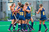 BERKELEY, CA- October 7, 2016: Cal Women's Field Hockey vs Stanford Cardinal. Cal lost in an overtime shootout 3-2.