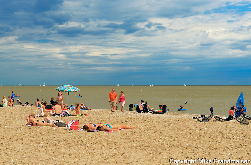 Beach on Lake Winnipeg<br />