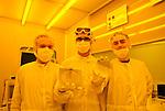 Il gruppo di ricerca del ChiLab, coordinato dal prof. Pirri, produce nanosensori biologici per applicazioni di controllo alimentare.