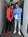 MIAMI, FLORIDA - JANUARY 18: Michael Blackson and Tony Rock backstage at the Miami Festival of Laughs at James L. Knight Center on January 18, 2020 in Miami, Florida.  ( Photo by Johnny Louis / jlnphotography.com )