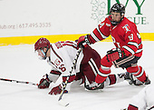 Ryan Donato (Harvard - 16), Travis Fulton (RPI - 18) - The Harvard University Crimson defeated the visiting Rensselaer Polytechnic Institute Engineers 5-2 in game 1 of their ECAC quarterfinal series on Friday, March 11, 2016, at Bright-Landry Hockey Center in Boston, Massachusetts.