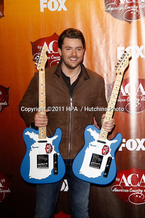 LOS ANGELES - DEC 5:  Chris Young in the Press Room of the American Country Awards 2011 at MGM Grand Garden Arena on December 5, 2011 in Las Vegas, NV