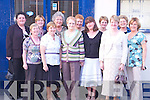 PARTY TIME: Margaret Galloway (Ballyheigue) retired from Kerry General Hospital.with a party on Friday last at Bella Bia, 1 Ivy Tce, Tralee, with her work colleagues. Front.row l-r: Helen Conway, Margaret O'Shea, Margaret Galloway, Mary Lynch, Catherine.O'Connor and Breda Dennehy. Back row l-r: Monica Finn, Ann Marie DeLacey, Nancy.Elder, Sheila Cooper, Margaret Coffey and Ann Tuohy.
