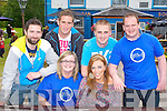 BEERFEST: Enjoying a great time at the Annascaul Beerfest at Tom Crean bar on Saturday seated l-r: Siobhan Gillfoyle and Orla Finn. Back l-r: Robert Dineen, Eoghan O'Donnell, John Bowler and Noel Flahive.