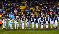 Columbus, Ohio - Thursday March 01, 2018: Germany starting eleven during a 2018 SheBelieves Cup match between the women's national teams of the United States (USA) and Germany (GER) at MAPFRE Stadium.