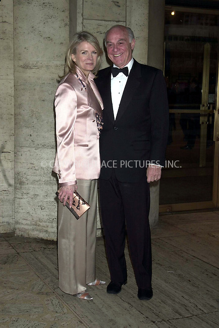 *WORLD RIGHTS*.Candice Bergen and husband Marshall Rose arriving at .Lincoln Center for a tribute to opera singer Beverly Sills..New York, USA.   14 April 2003   Ref: SA0005.Please Byline AJ Sokalner/Big Pictures USA