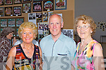 Julia Stack, Joe O'Keeffe and Daisy Kearney pictured last Friday at a special school reunion in Colaiste Ide agus Iosef, Abbeyfeale.