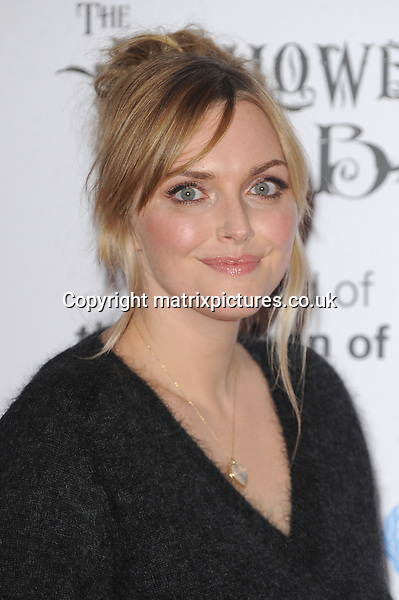 NON EXCLUSIVE PICTURE: PAUL TREADWAY / MATRIXPICTURES.CO.UK<br /> PLEASE CREDIT ALL USES<br /> <br /> WORLD RIGHTS<br /> <br /> English former model Sophie Dahl attending the UNICEF Halloween Ball at London's One Mayfair.<br /> <br /> OCTOBER 31st 2013<br /> <br /> REF: PTY 137081