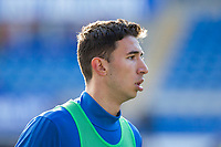 Marko Grujic of Cardiff City warms up ahead of the Sky Bet Championship match between Cardiff City and Middlesbrough at the Cardiff City Stadium, Cardiff, Wales on 17 February 2018. Photo by Mark Hawkins / PRiME Media Images.