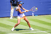 June 18th 2017, Edgbaston Priory Club; Tennis Tournament; Aegon Classic Birmingham; Sunday Qualifiers; Ankita Raina loses to Tereza Smitkova
