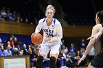 17 November 2016: Duke's Erin Mathias. The Duke University Blue Devils hosted the Grand Canyon University Antelopes at Cameron Indoor Stadium in Durham, North Carolina in a 2016-17 NCAA Division I Women's Basketball game. Duke won the game 90-47.