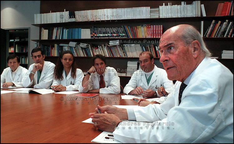 Umberto Veronesi.©Andrea Pagliarulo