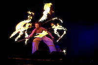 Fireshow in the opening ceremony.