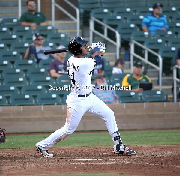 Jake Gatewood - Salt River Rafters - 2017 Arizona Fall League (Bill Mitchell)
