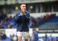 Ipswich Town's Jonas  Knudsen during the pre-match warm-up <br /> <br /> Photographer Hannah Fountain/CameraSport<br /> <br /> The EFL Sky Bet Championship - Ipswich Town v Nottingham Forest - Saturday 16th March 2019 - Portman Road - Ipswich<br /> <br /> World Copyright &copy; 2019 CameraSport. All rights reserved. 43 Linden Ave. Countesthorpe. Leicester. England. LE8 5PG - Tel: +44 (0) 116 277 4147 - admin@camerasport.com - www.camerasport.com